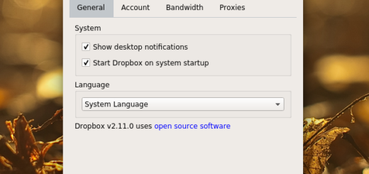 Dropbox QT theme for Linux