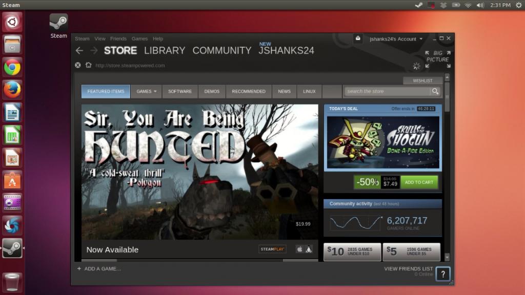 Install Steam on Ubuntu
