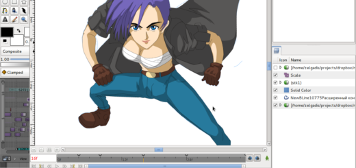 Create-Anime-Manga-On-Linux-Software