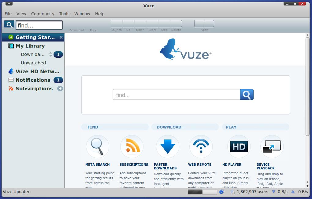 Install Vuze For Ubuntu