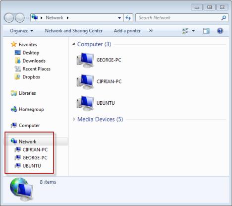 Access Ubuntu in Windows 7
