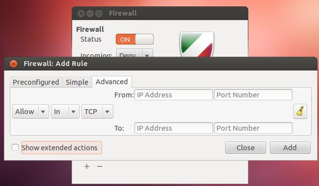 Install GUFW for Ubuntu