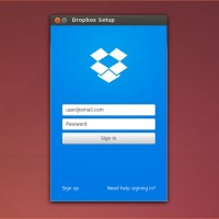 Dropbox-for-ubuntu-login