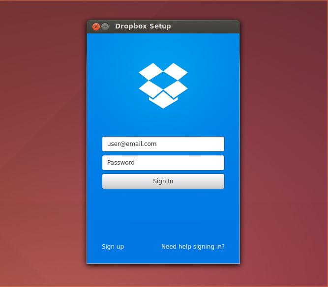 Dropbox-for-ubuntu-login - Ubuntu Free