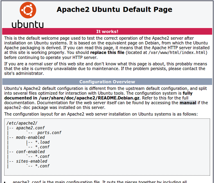 Apache2 On Ubuntu 14.04