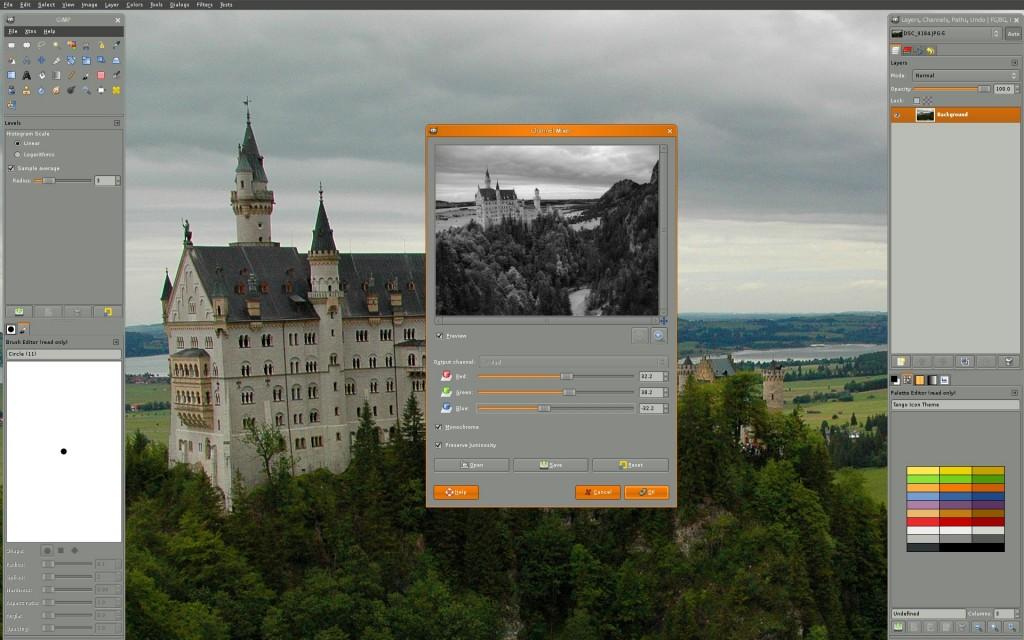 Get Gimp on Ubuntu 14.04