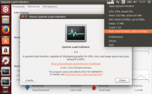 Get System Load Indicator For Ubuntu