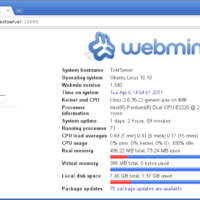 Webmin-Screenshot
