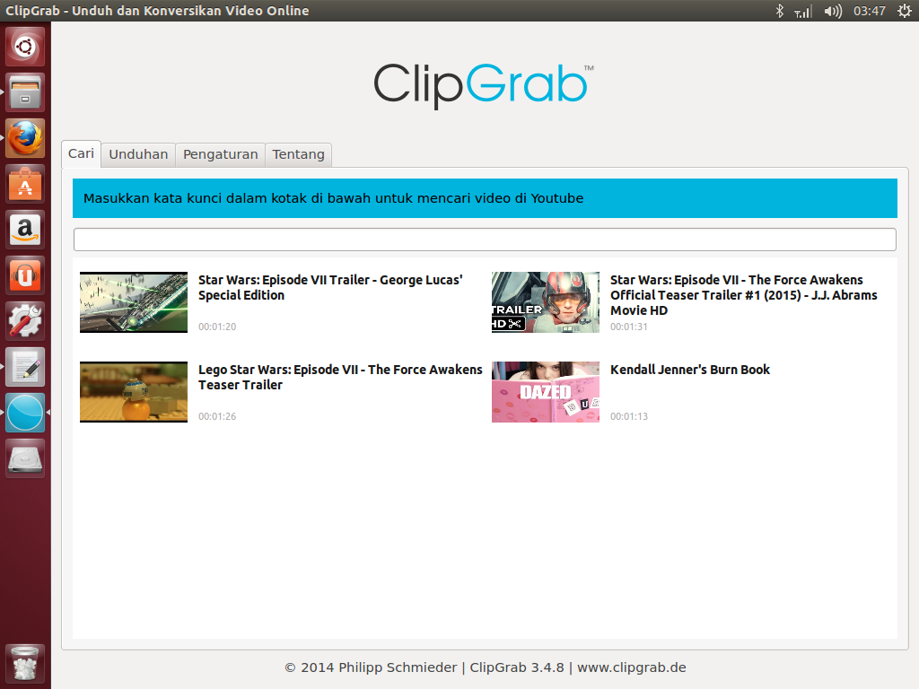 ClipGrab For Ubuntu