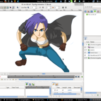 Create-Anime-Manga-On-Linux-Software
