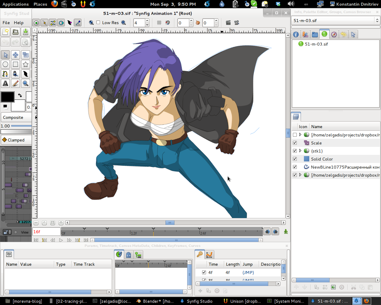 Anime Character Design Software : Download synfig studio best d animation software here
