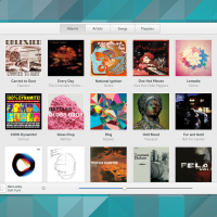 Album-View-Gnome-music-player