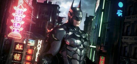 Arkham Knight Batman Game on Linux
