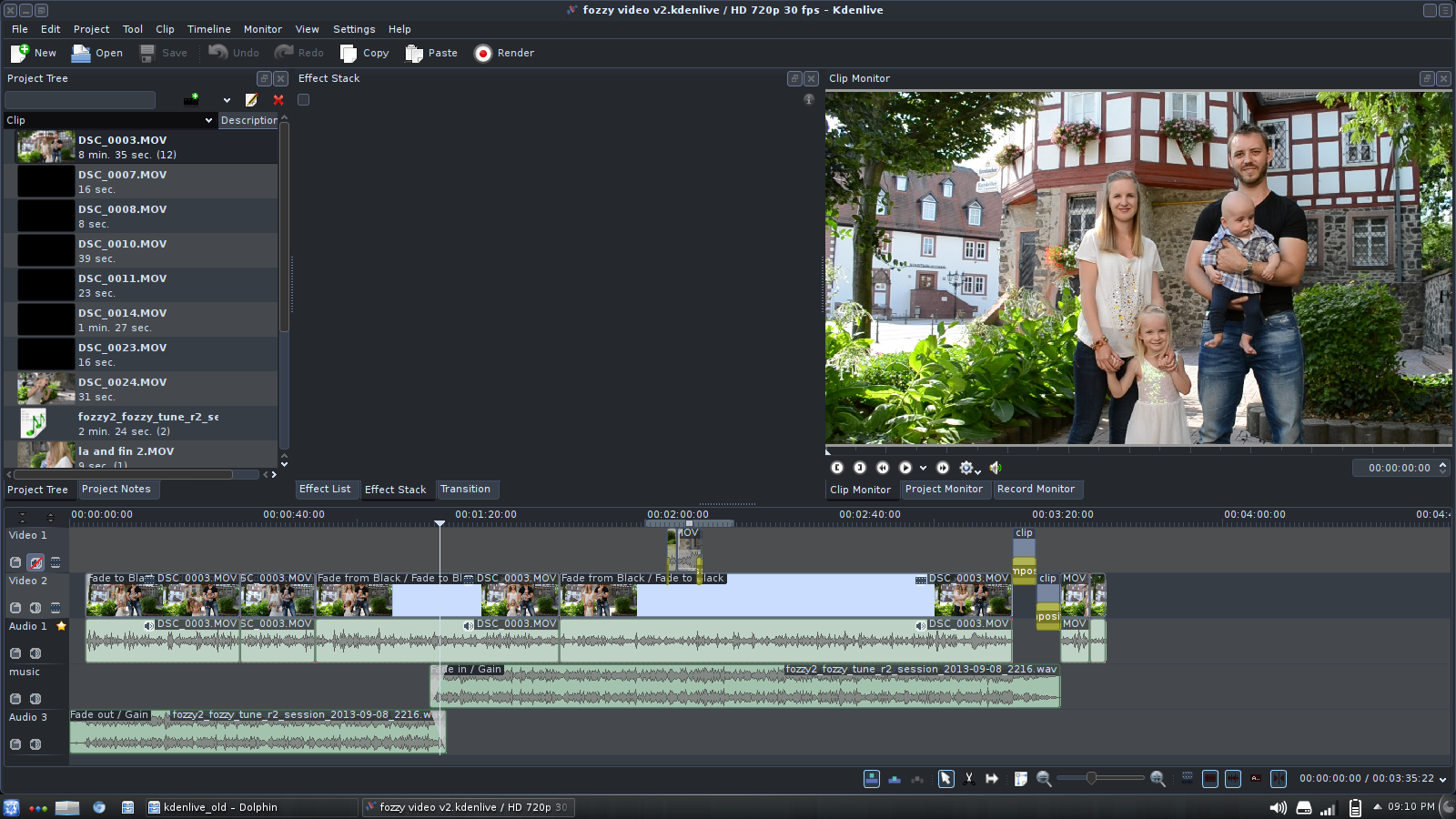 video editing software free online