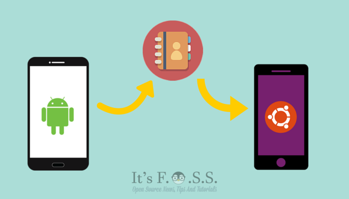Sync Android contact with Ubuntu Phone