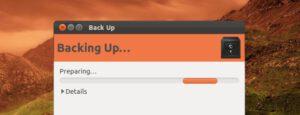 Backup Ubuntu