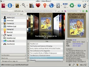Calibre E-Book Reader For Linux