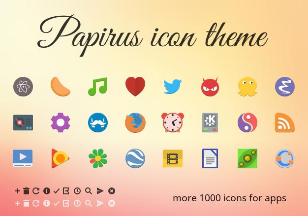 Install Papirus Icon Theme