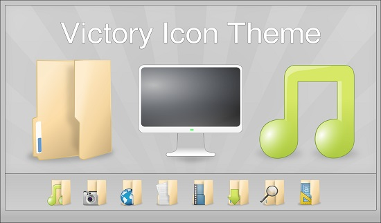 Install Victory Icon THeme