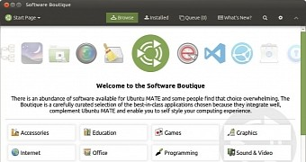 ubuntu mate s software boutique package manager is getting