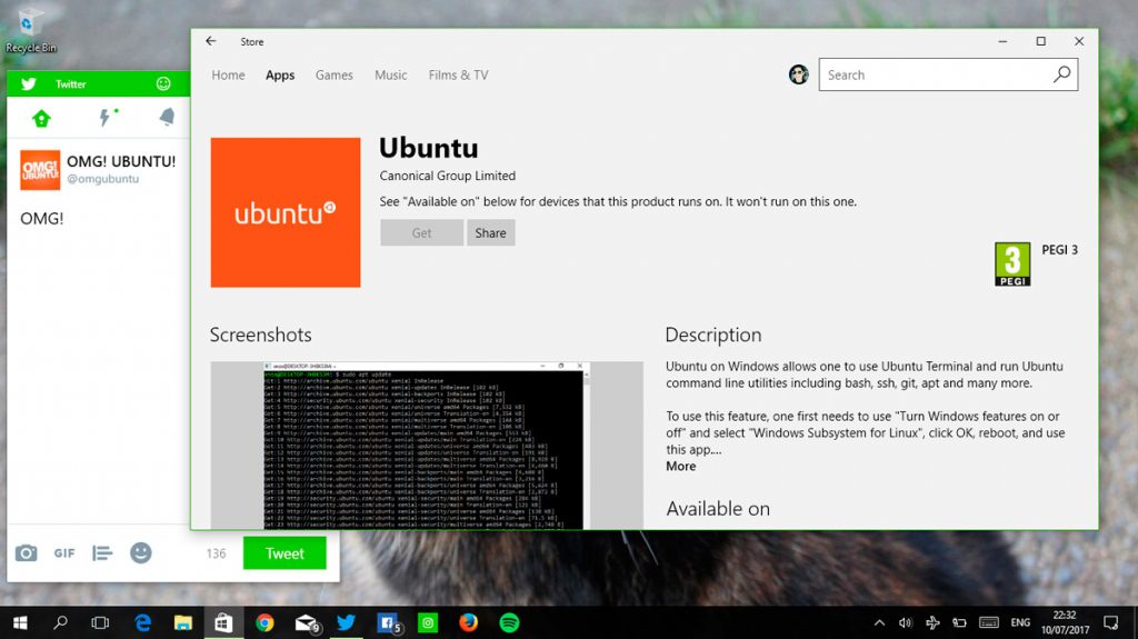 Download Ubuntu For Windows 10