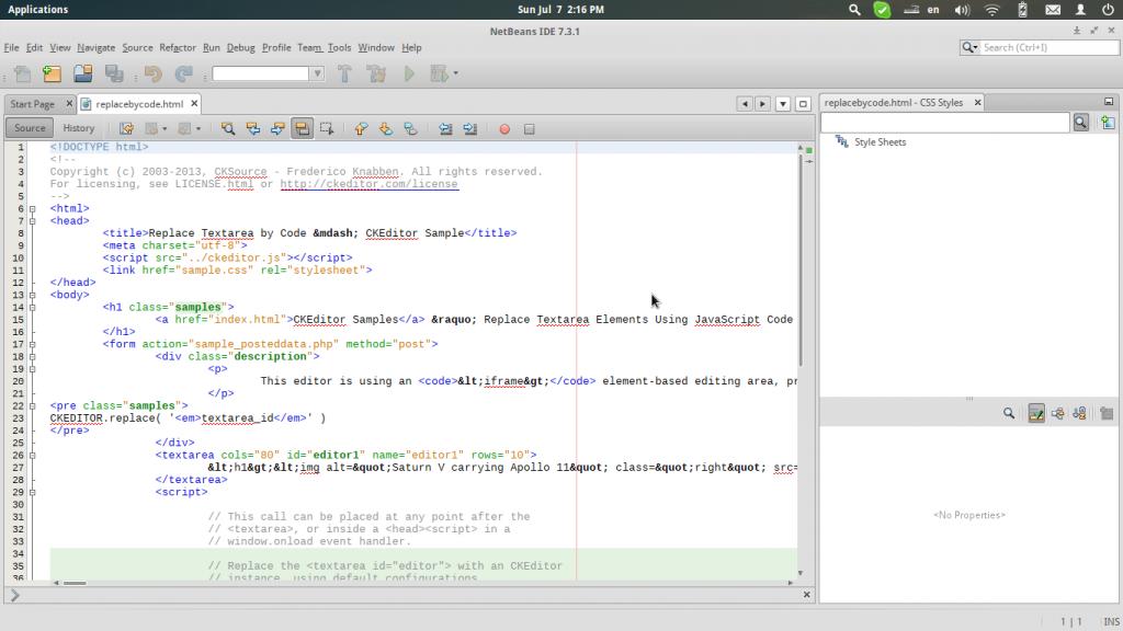NetBeans IDE For Linux
