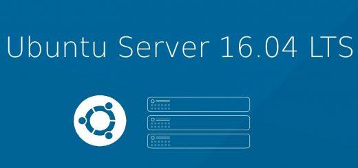Install Ubuntu 16.04 Server