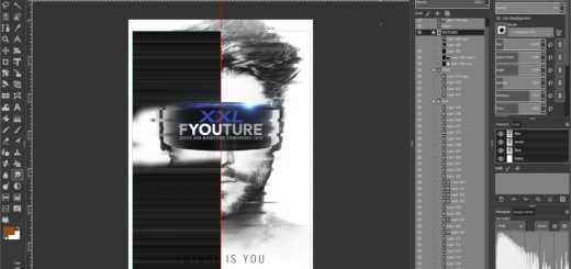 GIMP Photoshop Layout