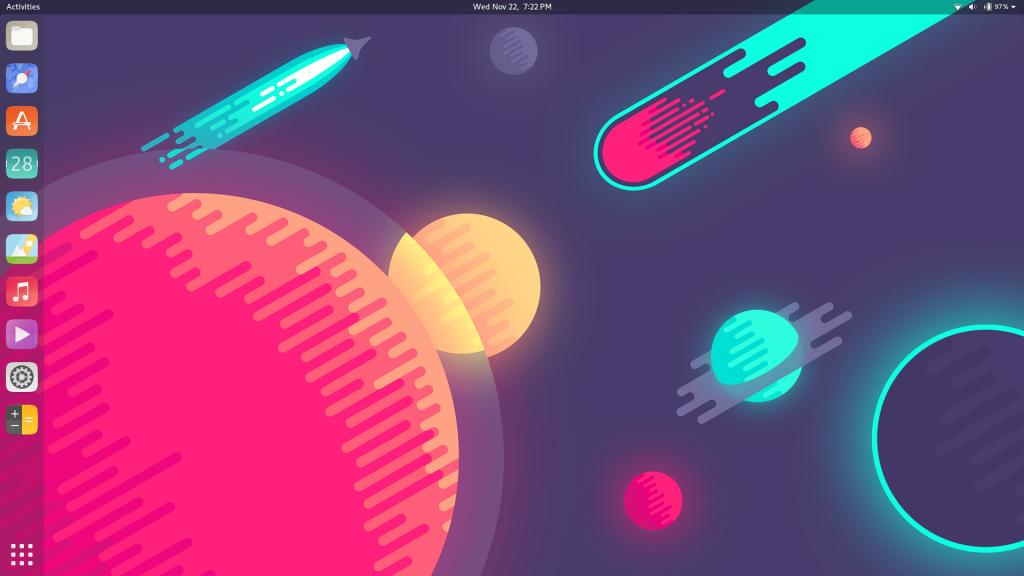 Suru Icon theme on Ubuntu