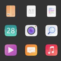 Suru-Icon-Theme-Preview