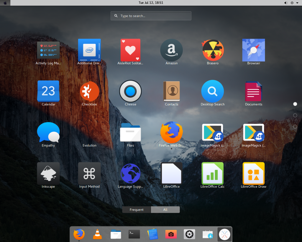 MacOS Theme On Ubuntu
