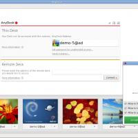 AnyDesk-Chat-Screen - Ubuntu Free