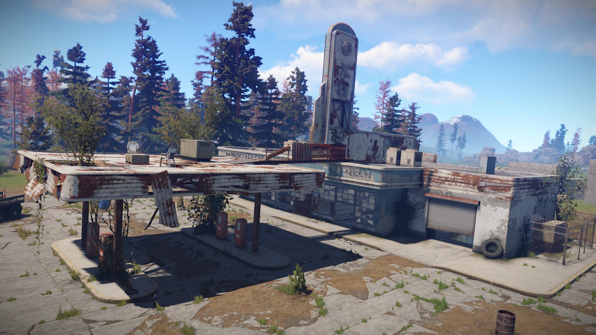 Abandoned Gas Station Ubuntu Free