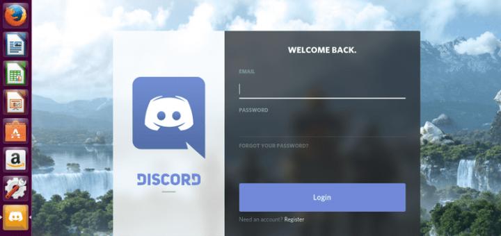 Login to Discord on Ubuntu