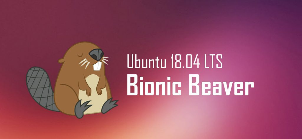 Ubuntu bionic beaver logo