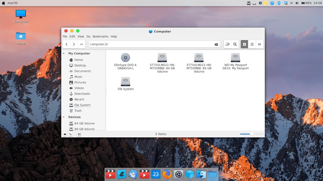 High-Sierra-Light-my-computer - Ubuntu Free