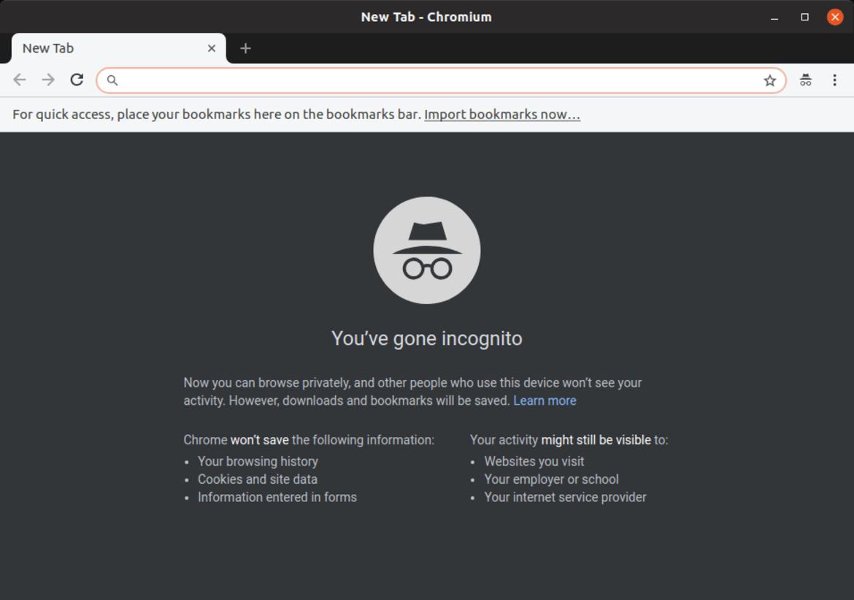 Chromium-Incognito-mode - Ubuntu Free