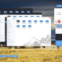 Qogir Theme Screenshot