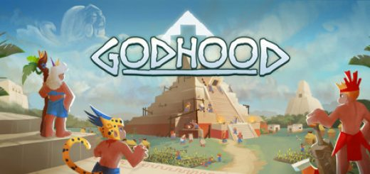 Official Godhood game logo