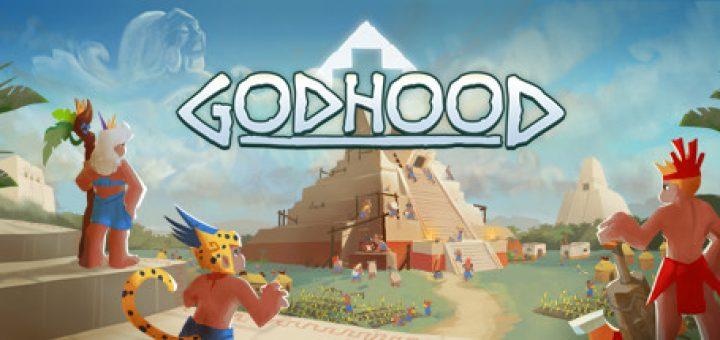 Official Godhood game logo