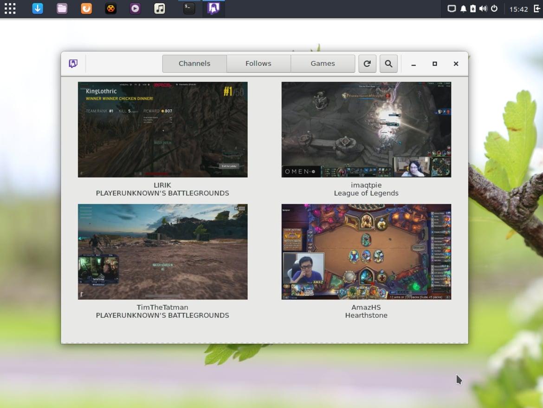 Gnome Twitch on Ubuntu