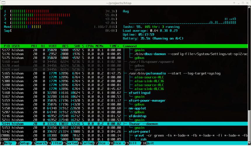 htop for Ubuntu