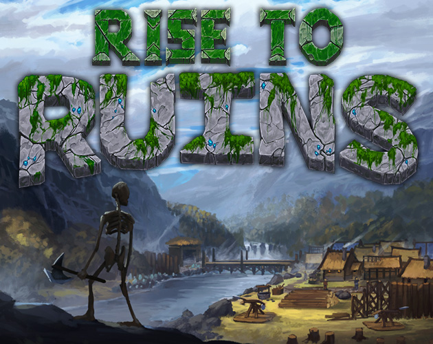 Rise of Ruins official logo