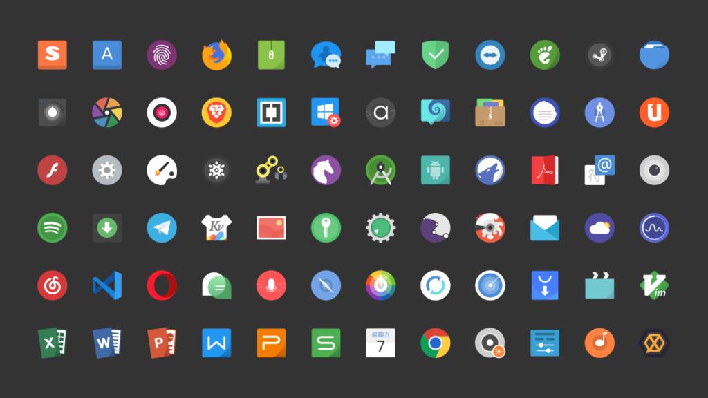 Tela Icons on Ubuntu