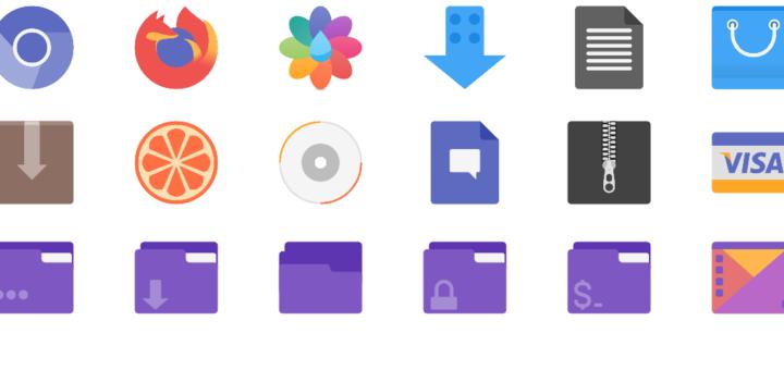 Flatery Icon theme Screenshot