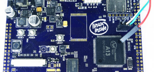Linux Inside Motherboard with PCBs
