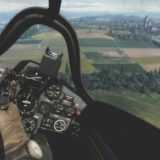 War Thunder first person in jet