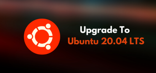 Upgrade to Ubuntu 20.04 LTS