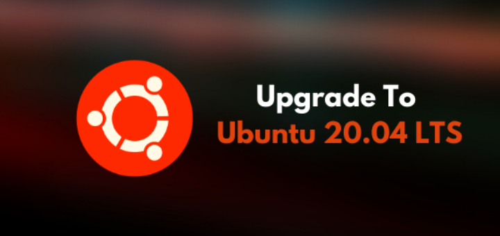 Upgrade to Ubuntu 20.04 LTS