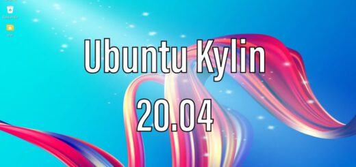 Ubuntu Kylin 20.04 Installed